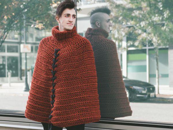 crochet Vincent Cloak free pattern