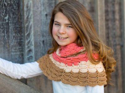 crochet Frances Neck Warmer easy pattern