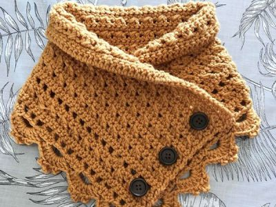 crochet Little Stories Cowl free pattern