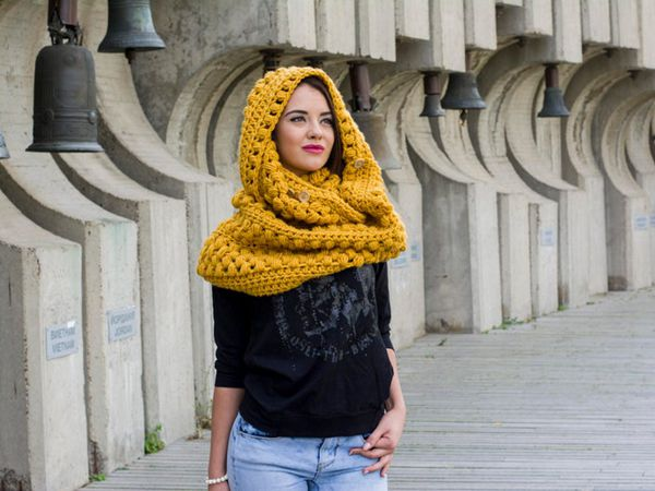 crochet Zizia Scarf easy pattern