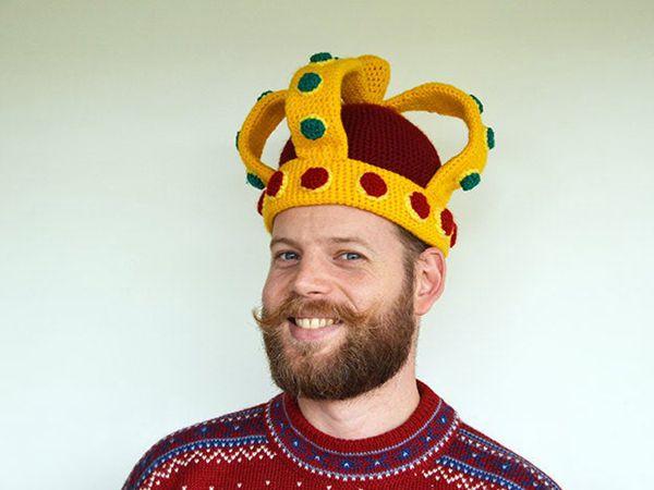 Crochet Royal Crown Pattern