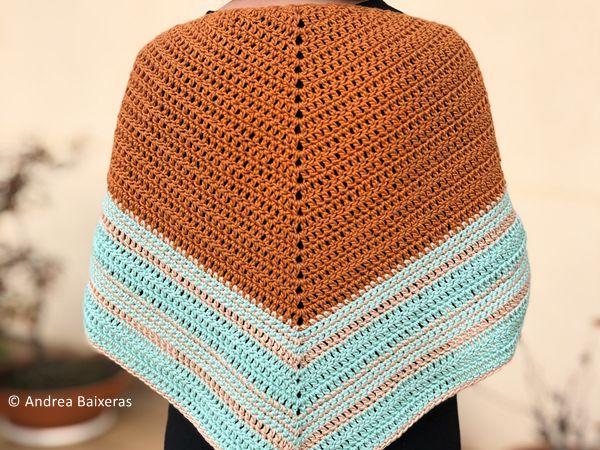 crochet Chal Arealonga shawl free pattern