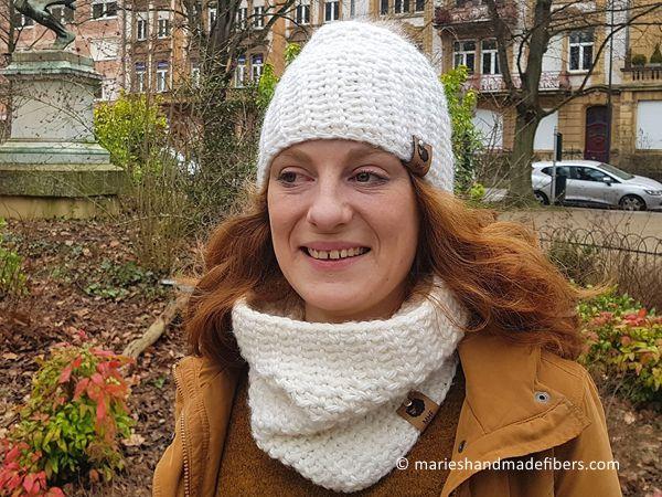 crochet The Bianca Hat Headband free pattern