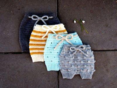 crochet Eeny Meeny Shorts easy pattern