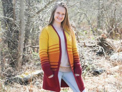 crochet Holly Cardigan free pattern