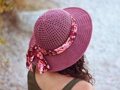 crochet Desert Sun Hat free pattern