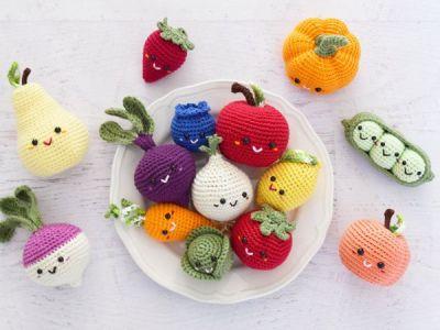 crochet Farmer's Market easy pattern