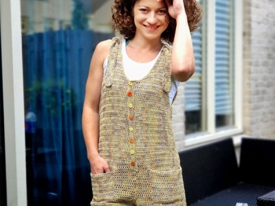 crochet Forever Young Jumpsuit easy pattern