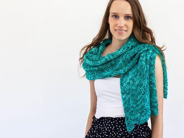 crochet Juniper Wrap free pattern