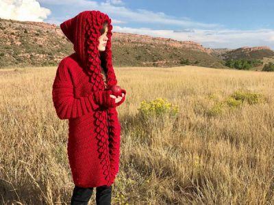 crochet Mountain Magic Cardigan easy pattern