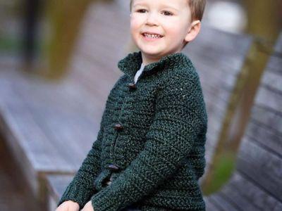 crochet Burnside Cardigan easy pattern