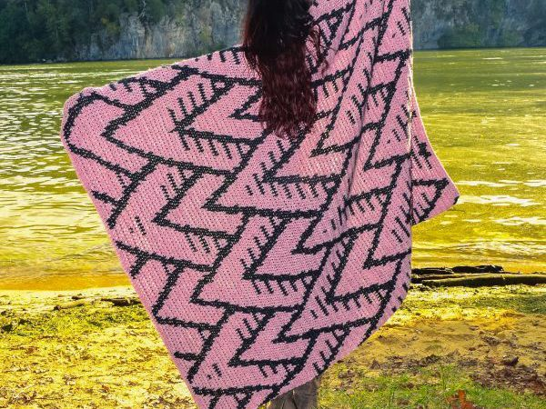 crochet Mount Olympus Blanket free pattern