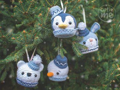 CROCHET Cute Christmas Tree Decoration EASY pattern