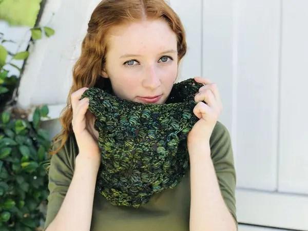 crochet Everglade Cowl free pattern