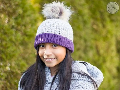 crochet Gracelynn Ribbed Hat free pattern