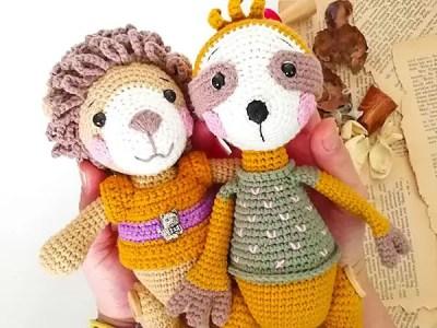 crochet Lion Benrooy Amigurumi free pattern