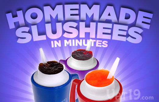 The Original Slush mug makes a slushee in just minutes out of nearly any beverage.  No ice or blender required!