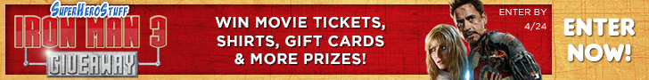 SuperHeroStuff Iron Man 3 Giveaway