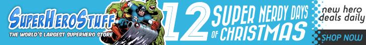 SuperHeroStuff 12-Day Christmas Sale!
