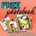 Free Photo Book Offer with V.4 Purchase