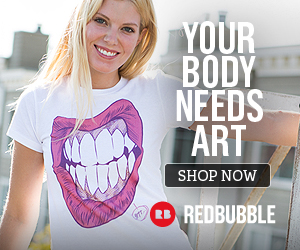 Your body needs art, shop now on Redbubble