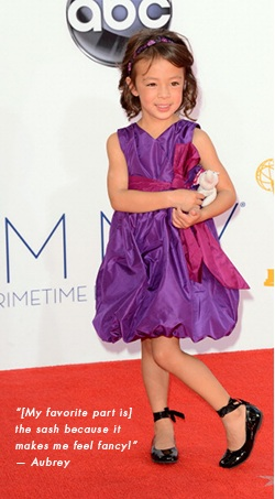 Where To Get Aubrey Anderson-Emmons' Little Lily Emmy Dress Charm Posh, Where To Get Aubrey Anderson-Emmons' Little Lily Emmy Dress