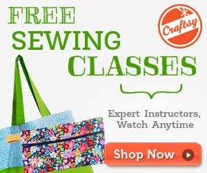 free sewing classes online at craftsy.com
