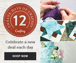 Spring Flash Sale This Weekend Only on Select Craftsy Classes!