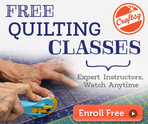 Free Quilting Classes and a Winner! - The Sassy Quilter : quilting lessons online free - Adamdwight.com