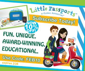 Save 10% on Little Passports
