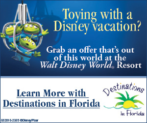 Get great deals on Walt Disney World Vacation Packages at Destinations in Florida