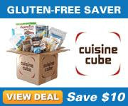 $19 for $29.99 worth of Cuisine Cube's delicious gluten-free foods!