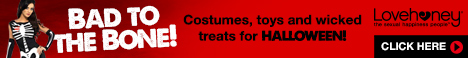 Great Offers on Costumes, Toys and Wicked Treats for Halloween!