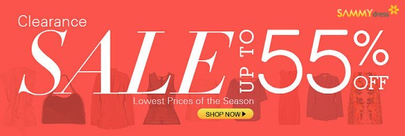 Clearance! Sale up to 55% OFF!