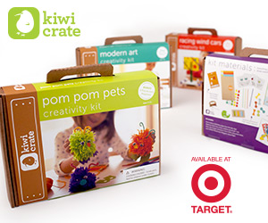 Kiwi Crate and Target Partnership