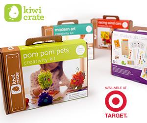 Kiwi Crate and Target Partnership
