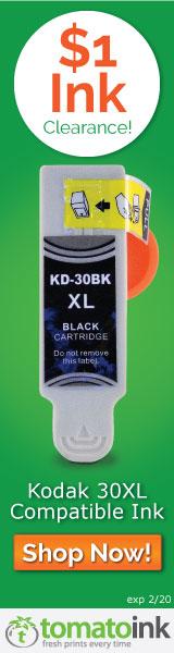 Kodak 30 XL Black Ink