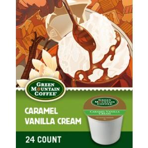Green Mountain Caramel Vanilla Cream Keurig Kcup coffee