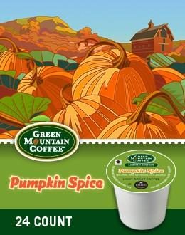 Green Mountain Pumpkin Spice Keurig Kcups