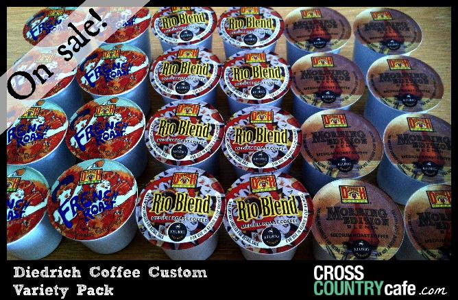 Diedrich Keurig Kcup Custom Variety Pack