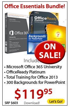 Microsoft Office Essentials Bundle