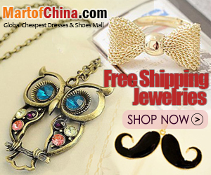 Free Shipping Jewelries of Martofchina