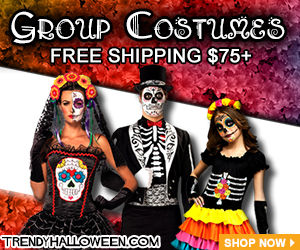 Group Costumes for all the living in your life. Free Shipping over $75