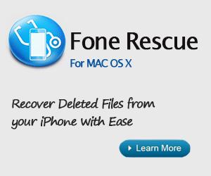 Fone Rescue for Mac