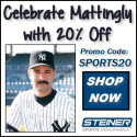 20% Off Don Mattingly Memorabilia at Steiner Sports, code SPORTS20