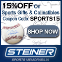 20% Off at SteinerSport.com. Code: SPORTS20