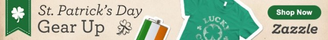 St. Patrick's Day Shirts, Accessories, Flasks and more!