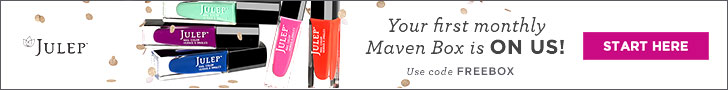 Julep Maven Subscription - first box free