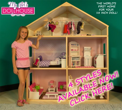 World's First Home For Your 18inch Doll!