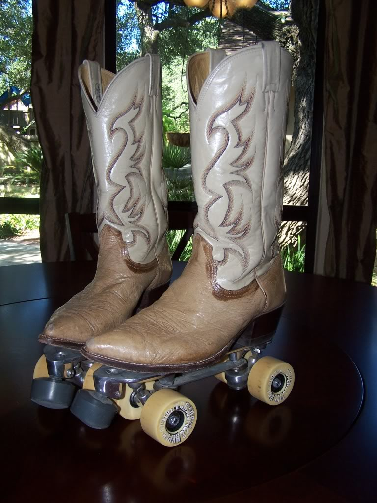 Cowboy Boot Roller Skates Are A Thing
